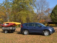 Aspen Classic, black body with kayak rack
